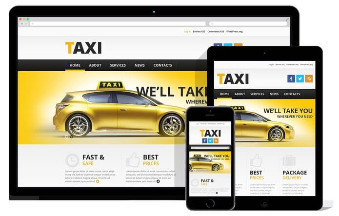 Website for Taxi Offices